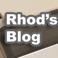 Rhod's Collection Blog